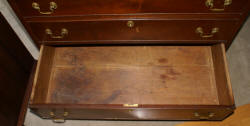 Period slant lid Governor Winthrop desk early 1800s