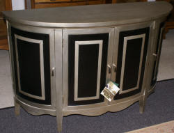 Pulaski Furniture Company Accents Aurora Credenza with Faux Crocodile panels