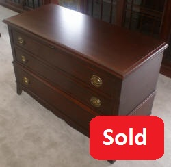 Mahogany lane cedar chest