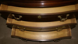 Baker Furniture mahogany tall chest of drawers