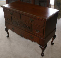 Lane queen anne mahogany cedar chest