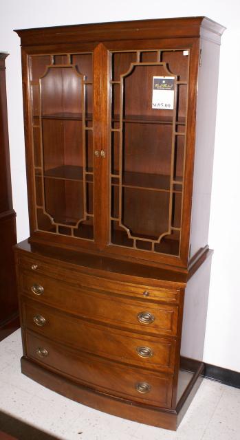China Cabinet-Mahogany china cabinets-antique china cabinets
