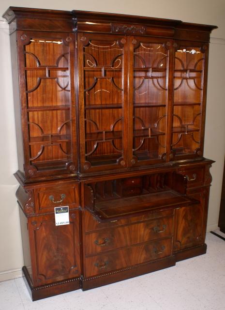 Antique Mahogany China Cabinet ...