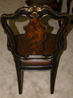 Set of 6 Hooker Furniture Company Beladora dining room chairs
