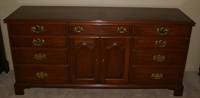 Henkel Harris Solid Wild Black Cherry Dresser Finish 24