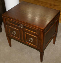 Walnut drexel night stand