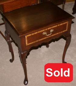 Hickory Chair Company Queen Anne night stand