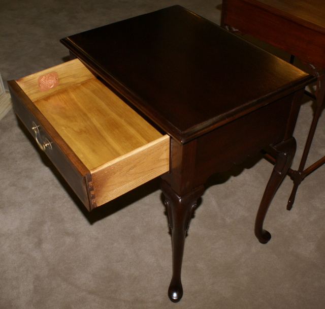 ... Hickory Chair Company Queen Anne Night Stand