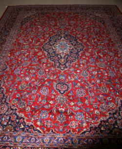 antique persian handmade rug