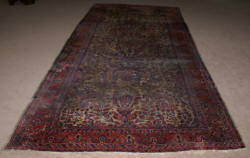 Antique Sarouk antique rug
