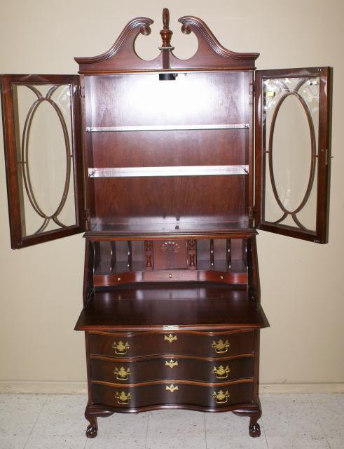 Jasper Cabinet company mahogany secretary desk