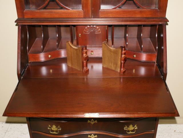 - Jasper Cabinet Company Mahogany Secretary Desk