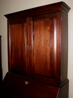Craftique Solid Mahogany Blind Door Two Piece New Bern