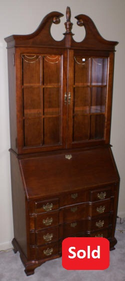 Antique Secretary Desk Mahogany Secretary Chippendale