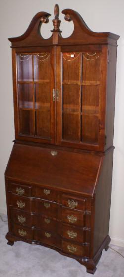 Solid Cherry Jasper Cabinet Company Block Front