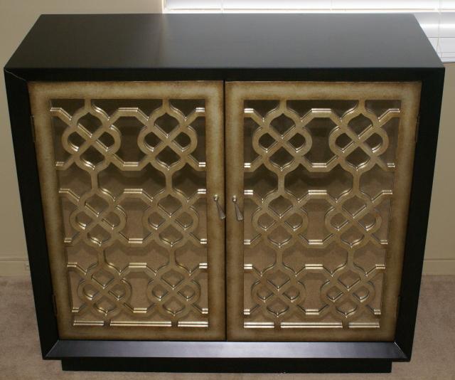 Pulaski Furniture Company Two Door Mirrored Server / Accent Console