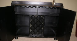 Pulaski Furniture Company distressed  wine cabinet