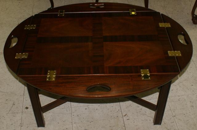 Council Craftsman Solid Mahogany Butler Coffee Table