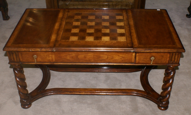 Jonathan Charles Chess Top Game Coffee Table