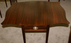 Matched pair of  mahogany Pembroke tables