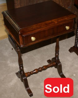 One drawer 1920s side table
